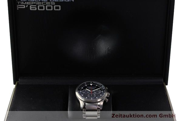 Used luxury watch Porsche Design Dashbord chronograph titanium automatic Kal. ETA 2894-2 Ref. 157.549  | 143055 07