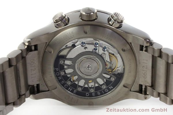 Used luxury watch Porsche Design Dashbord chronograph titanium automatic Kal. ETA 2894-2 Ref. 157.549  | 143055 09