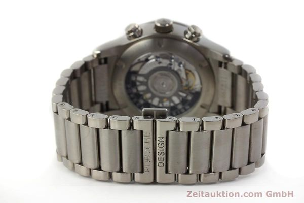 Used luxury watch Porsche Design Dashbord chronograph titanium automatic Kal. ETA 2894-2 Ref. 157.549  | 143055 11