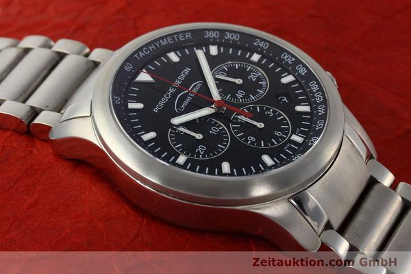 Used luxury watch Porsche Design Dashbord chronograph titanium automatic Kal. ETA 2894-2 Ref. 157.549  | 143055 14