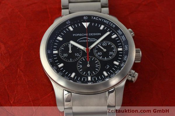 Used luxury watch Porsche Design Dashbord chronograph titanium automatic Kal. ETA 2894-2 Ref. 157.549  | 143055 15
