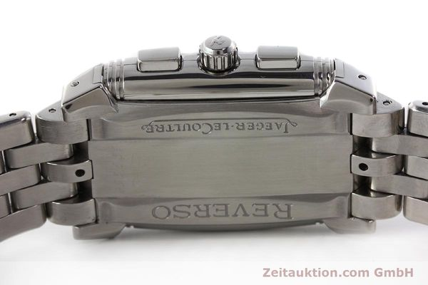 Used luxury watch Jaeger Le Coultre Reverso chronograph steel manual winding Kal. 659 Ref. 295.8.59  | 143057 09