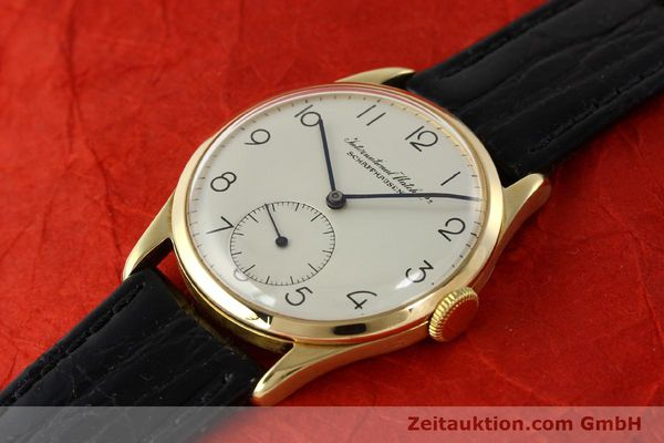 Used luxury watch IWC Portofino 18 ct gold manual winding Kal. 83  | 143059 01