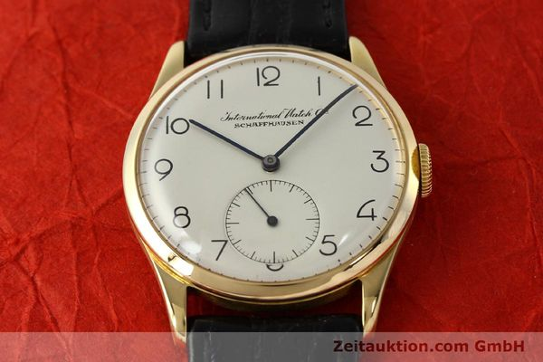 Used luxury watch IWC Portofino 18 ct gold manual winding Kal. 83  | 143059 14