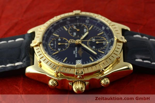 Used luxury watch Breitling Chronomat chronograph 18 ct gold automatic Kal. B13 ETA 7750 Ref. K13048  | 143060 05