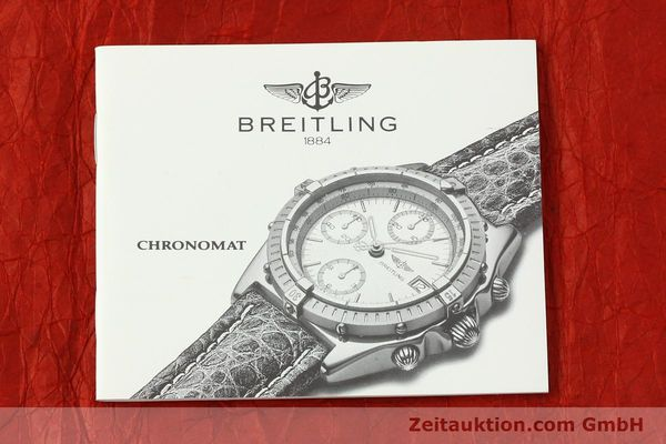Used luxury watch Breitling Chronomat chronograph 18 ct gold automatic Kal. B13 ETA 7750 Ref. K13048  | 143060 14