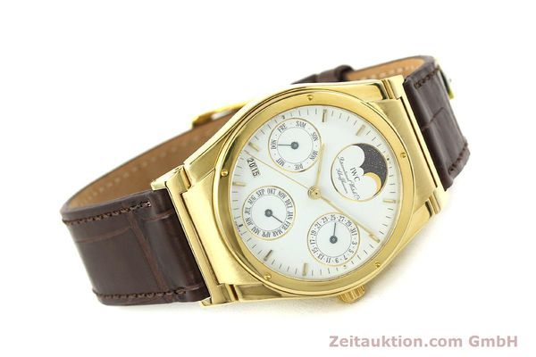 Used luxury watch IWC Ingenieur 18 ct gold automatic Kal. 3757 Ref. 35401  | 143061 03