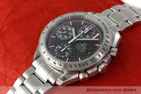 Used luxury watch Omega Speedmaster Racing chronograph steel automatic Kal. 1152 Ref. 35195000 LIMITED EDITION | 143064 01