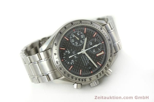 Used luxury watch Omega Speedmaster Racing chronograph steel automatic Kal. 1152 Ref. 35195000 LIMITED EDITION | 143064 03