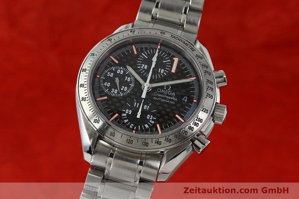 Used luxury watch Omega Speedmaster Racing chronograph steel automatic Kal. 1152 Ref. 35195000 LIMITED EDITION | 143064 04