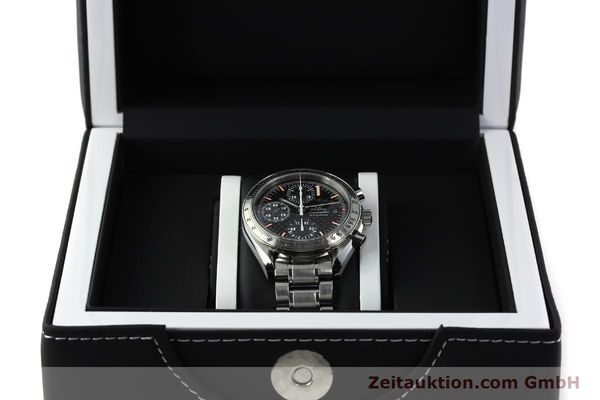 Used luxury watch Omega Speedmaster Racing chronograph steel automatic Kal. 1152 Ref. 35195000 LIMITED EDITION | 143064 07