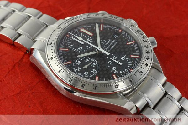 Used luxury watch Omega Speedmaster Racing chronograph steel automatic Kal. 1152 Ref. 35195000 LIMITED EDITION | 143064 17