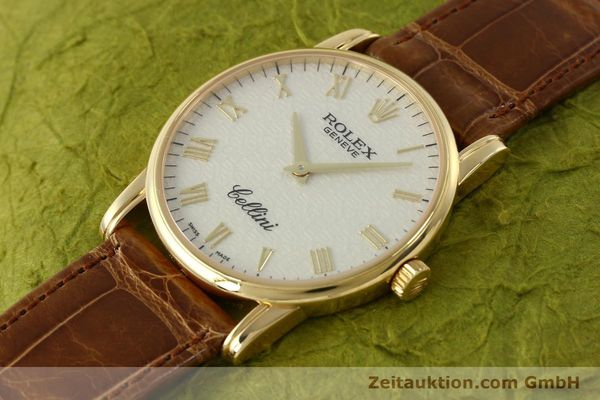 Used luxury watch Rolex Cellini 18 ct gold manual winding Kal. 1602 Ref. 5116  | 143065 01