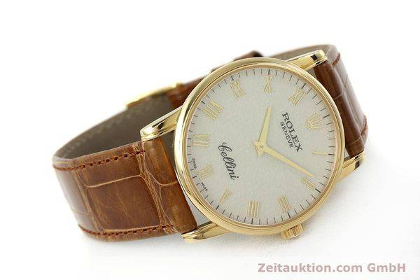 Used luxury watch Rolex Cellini 18 ct gold manual winding Kal. 1602 Ref. 5116  | 143065 03