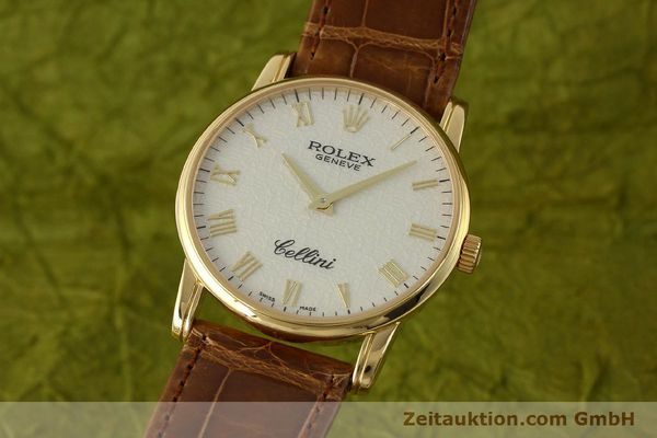 Used luxury watch Rolex Cellini 18 ct gold manual winding Kal. 1602 Ref. 5116  | 143065 04