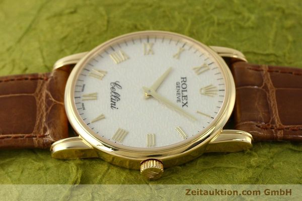 Used luxury watch Rolex Cellini 18 ct gold manual winding Kal. 1602 Ref. 5116  | 143065 05