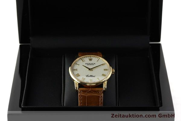 Used luxury watch Rolex Cellini 18 ct gold manual winding Kal. 1602 Ref. 5116  | 143065 07