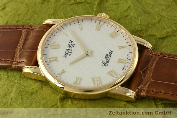 Used luxury watch Rolex Cellini 18 ct gold manual winding Kal. 1602 Ref. 5116  | 143065 15