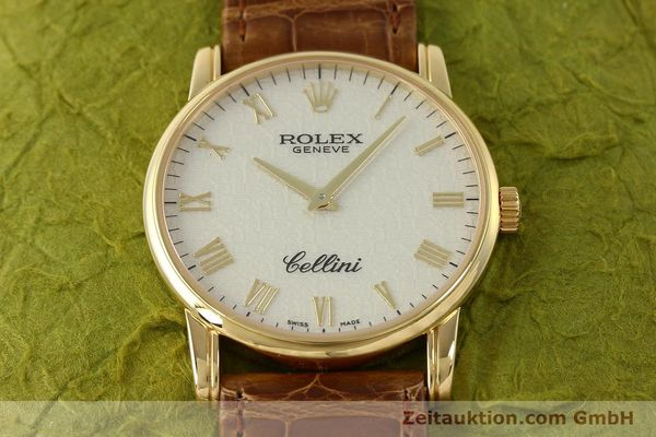 Used luxury watch Rolex Cellini 18 ct gold manual winding Kal. 1602 Ref. 5116  | 143065 16