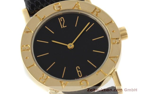 Used luxury watch Bvlgari Bvlgari 18 ct gold quartz Kal. 732-93 Ref. BB30GL  | 143066 02