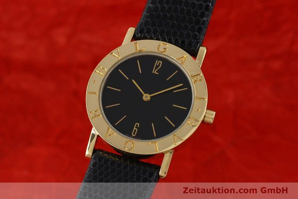 Used luxury watch Bvlgari Bvlgari 18 ct gold quartz Kal. 732-93 Ref. BB30GL  | 143066 04