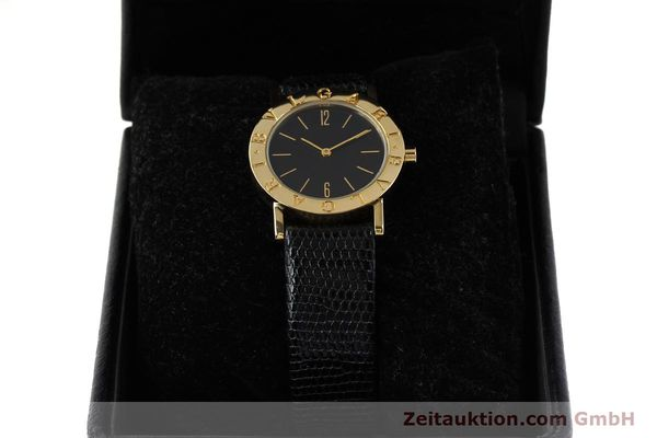 Used luxury watch Bvlgari Bvlgari 18 ct gold quartz Kal. 732-93 Ref. BB30GL  | 143066 07