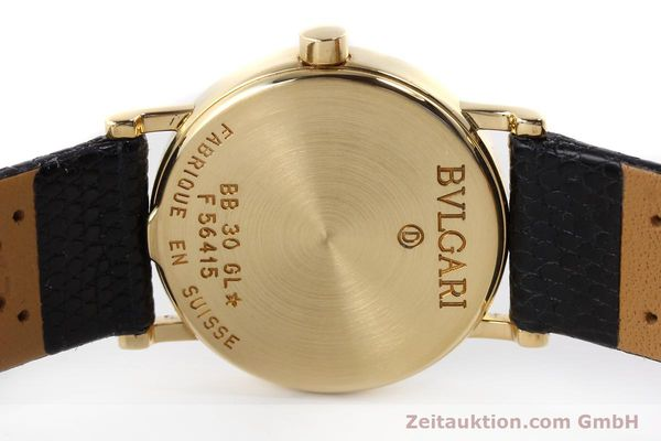 Used luxury watch Bvlgari Bvlgari 18 ct gold quartz Kal. 732-93 Ref. BB30GL  | 143066 09