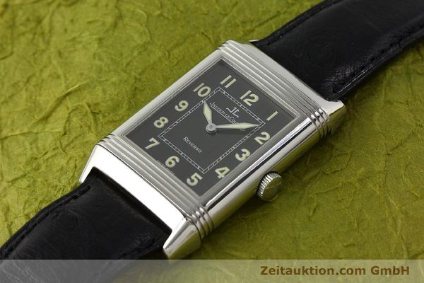 Used luxury watch Jaeger Le Coultre Reverso steel manual winding Kal. 822 Ref. 271.8.61  | 143067 01