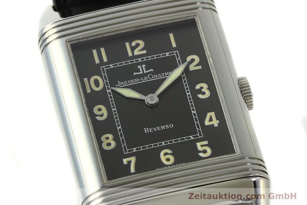 Used luxury watch Jaeger Le Coultre Reverso steel manual winding Kal. 822 Ref. 271.8.61  | 143067 02