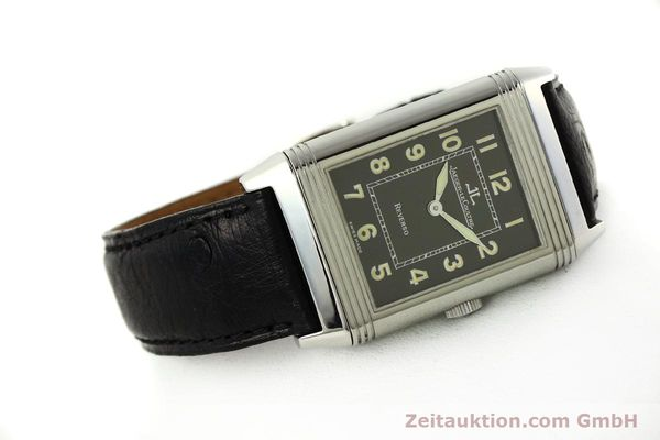 Used luxury watch Jaeger Le Coultre Reverso steel manual winding Kal. 822 Ref. 271.8.61  | 143067 03
