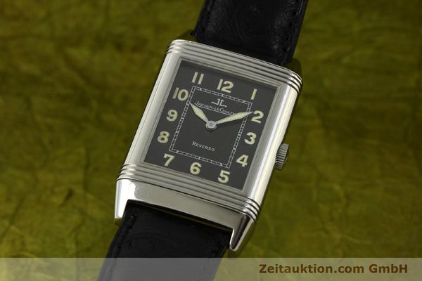 Used luxury watch Jaeger Le Coultre Reverso steel manual winding Kal. 822 Ref. 271.8.61  | 143067 04