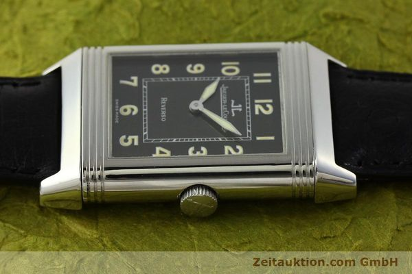 Used luxury watch Jaeger Le Coultre Reverso steel manual winding Kal. 822 Ref. 271.8.61  | 143067 05