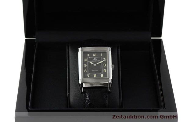 Used luxury watch Jaeger Le Coultre Reverso steel manual winding Kal. 822 Ref. 271.8.61  | 143067 07