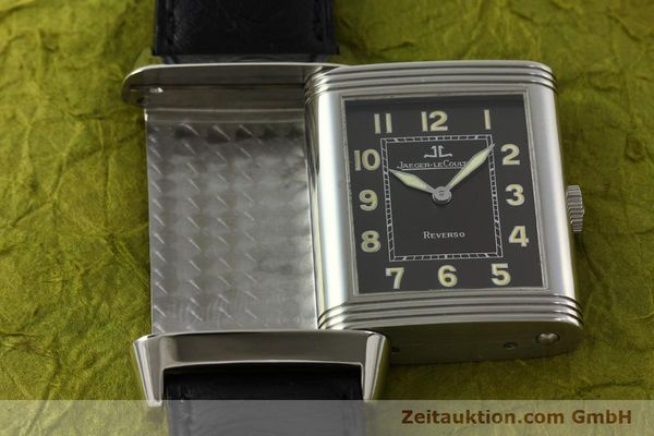 Used luxury watch Jaeger Le Coultre Reverso steel manual winding Kal. 822 Ref. 271.8.61  | 143067 13