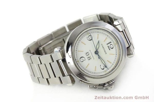 Used luxury watch Cartier Pasha steel automatic Kal. 052 ETA 2892A2  | 143068 03