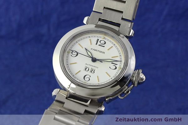 Used luxury watch Cartier Pasha steel automatic Kal. 052 ETA 2892A2  | 143068 04