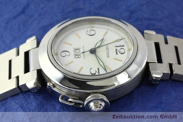 Used luxury watch Cartier Pasha steel automatic Kal. 052 ETA 2892A2  | 143068 05