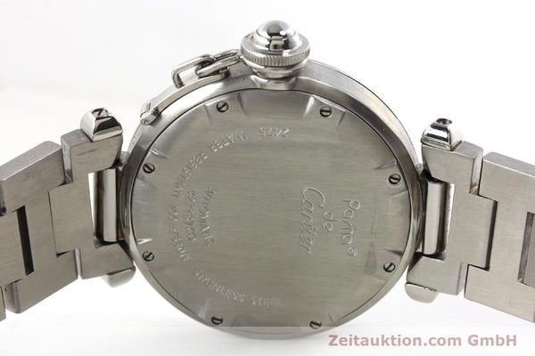 Used luxury watch Cartier Pasha steel automatic Kal. 052 ETA 2892A2  | 143068 09