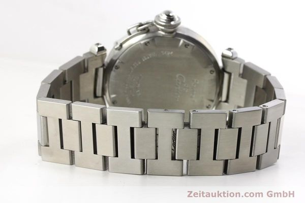 Used luxury watch Cartier Pasha steel automatic Kal. 052 ETA 2892A2  | 143068 11