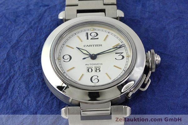 Used luxury watch Cartier Pasha steel automatic Kal. 052 ETA 2892A2  | 143068 15