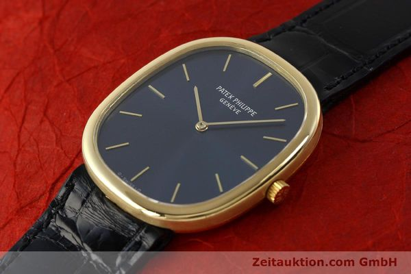 Used luxury watch Patek Philippe Ellipse 18 ct gold quartz Kal. E27 Ref. 3838  | 143069 01
