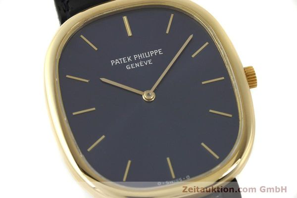 Used luxury watch Patek Philippe Ellipse 18 ct gold quartz Kal. E27 Ref. 3838  | 143069 02
