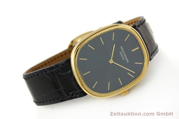 Used luxury watch Patek Philippe Ellipse 18 ct gold quartz Kal. E27 Ref. 3838  | 143069 03