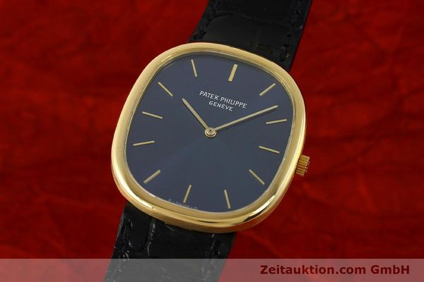 Used luxury watch Patek Philippe Ellipse 18 ct gold quartz Kal. E27 Ref. 3838  | 143069 04