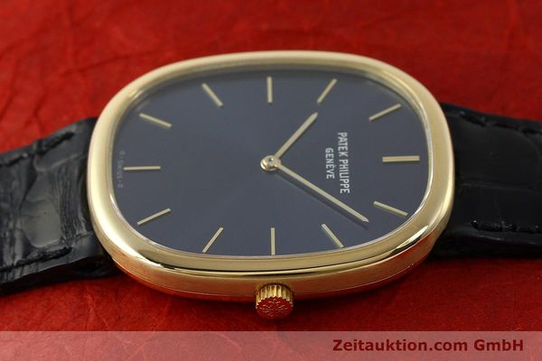Used luxury watch Patek Philippe Ellipse 18 ct gold quartz Kal. E27 Ref. 3838  | 143069 05