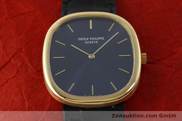 Used luxury watch Patek Philippe Ellipse 18 ct gold quartz Kal. E27 Ref. 3838  | 143069 18