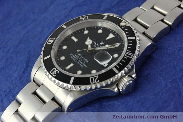 Used luxury watch Rolex Submariner steel automatic Kal. 3135 Ref. 16610  | 143072 01