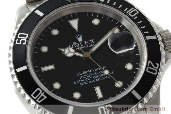 Used luxury watch Rolex Submariner steel automatic Kal. 3135 Ref. 16610  | 143072 02