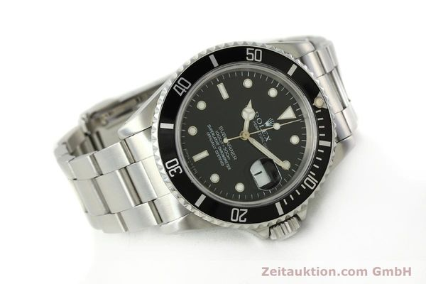 Used luxury watch Rolex Submariner steel automatic Kal. 3135 Ref. 16610  | 143072 03