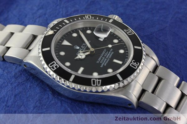 Used luxury watch Rolex Submariner steel automatic Kal. 3135 Ref. 16610  | 143072 15
